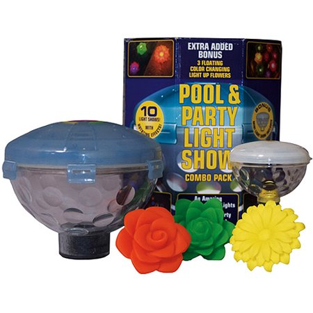 Pool and party light show combo for Pool light show walmart
