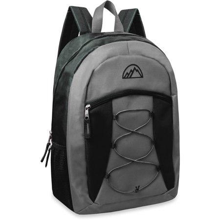 Mountain Edge 17 Inch Bungee Front Pocket Backpack