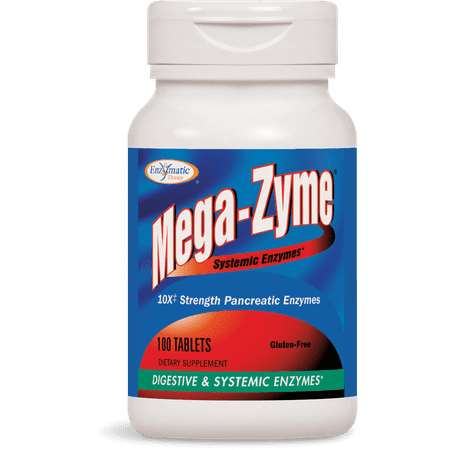 Enzymatic Therapy Mega-Zyme Tablets, 100 Ct