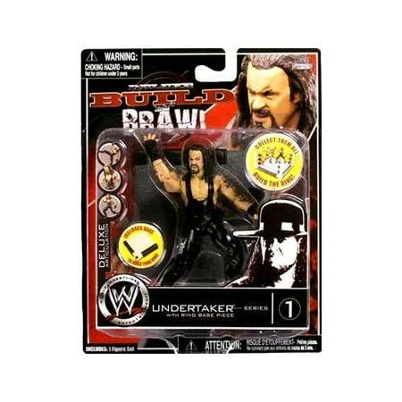 WWE Wrestling Build N' Brawl Series 1 Undertaker Action Figure](Undertaker Toys)