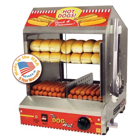 Paragon Hot Dog Steamer