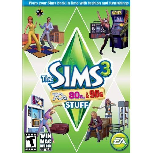 Electronic Arts 19782 The Sims 3 70s 80s 90s Stuf