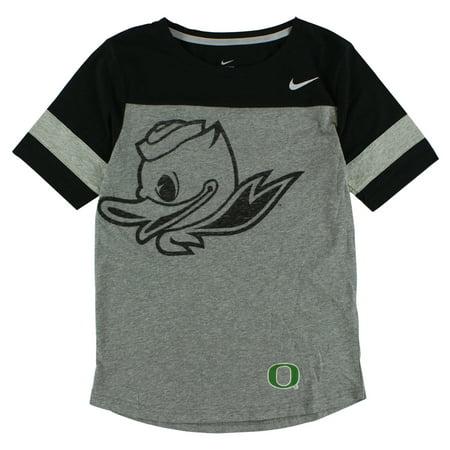 Nike Womens Oregon Ducks Championship Drive T Shirt Light Heather Grey