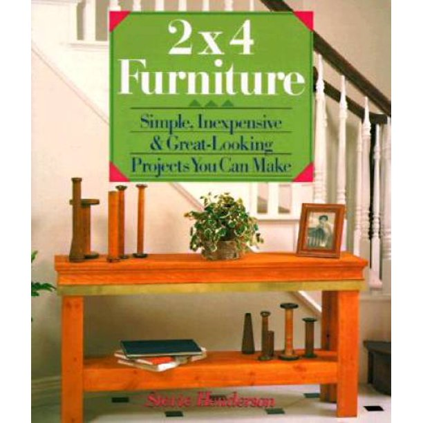 Pre Owned Paperback, How To Make Simple Furniture
