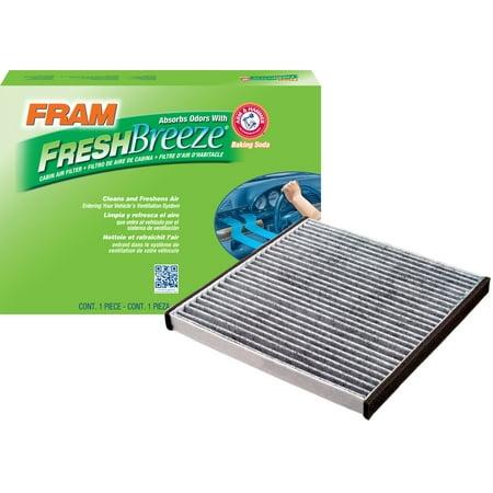 fram fresh breeze cabin air filter, cf10132 - walmart.com