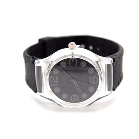 Authentic black Geneva Women's Watch Light Weight Cycling Out Door Sports Polka Dots