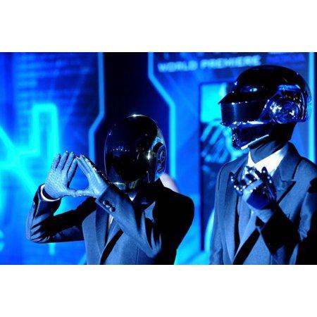 Daft Punk Mini Poster 11Inx17In - Daft Punk Halloween
