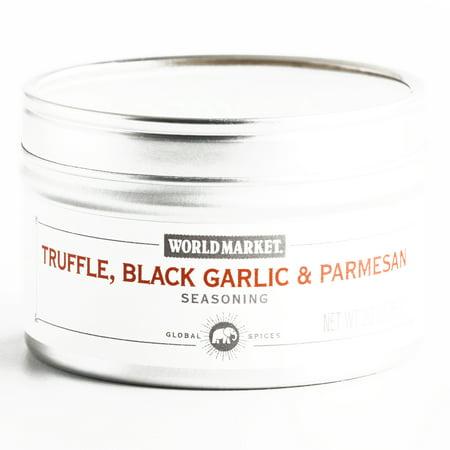Black Truffle Infused - Black Truffle Garlic Parmesan Seasoning  2.3 oz each (1 Item Per Order, not per case)