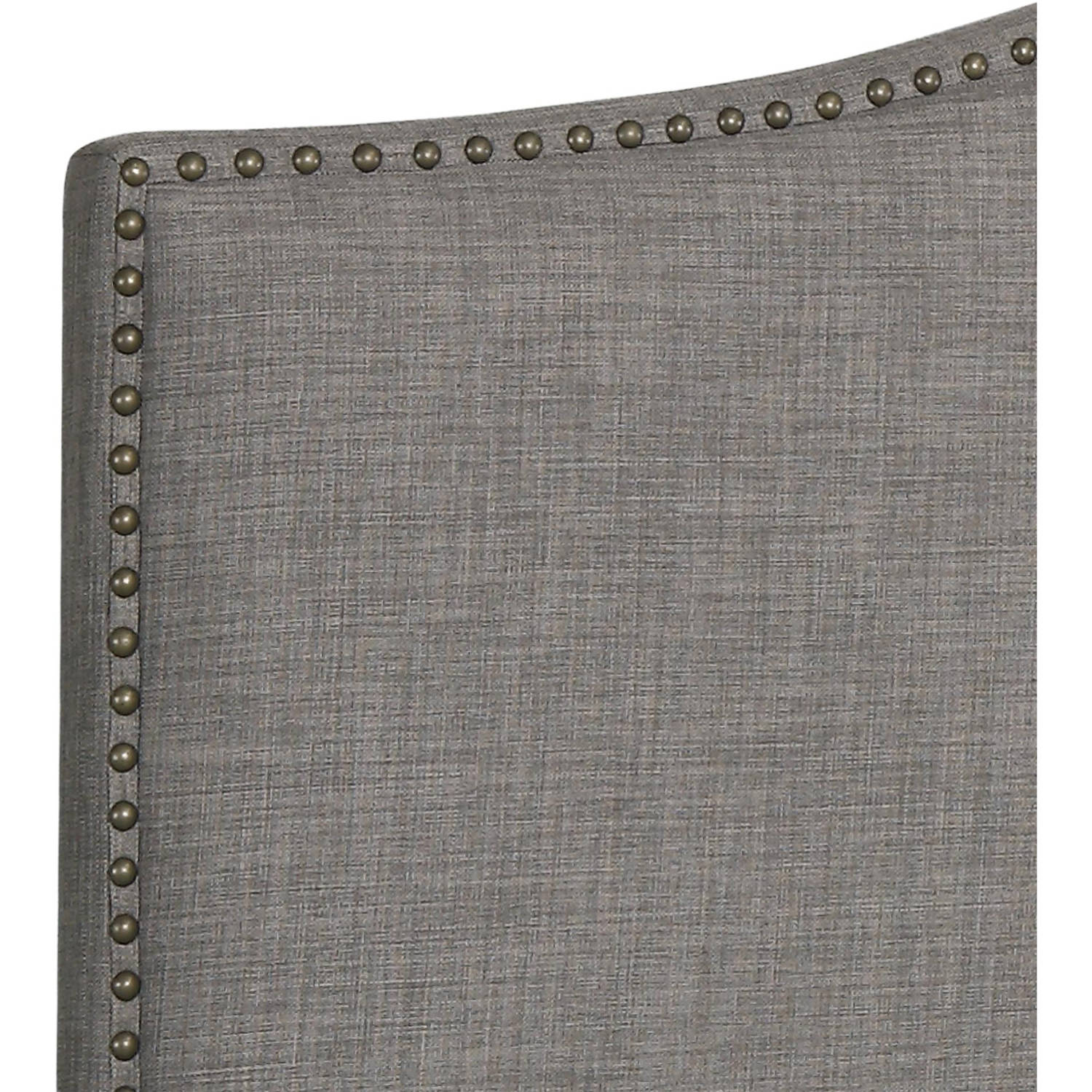 Better Homes and Gardens Grayson Linen Upholstered Headboard with Nailhead  King, Multiple Colors - Walmart.com
