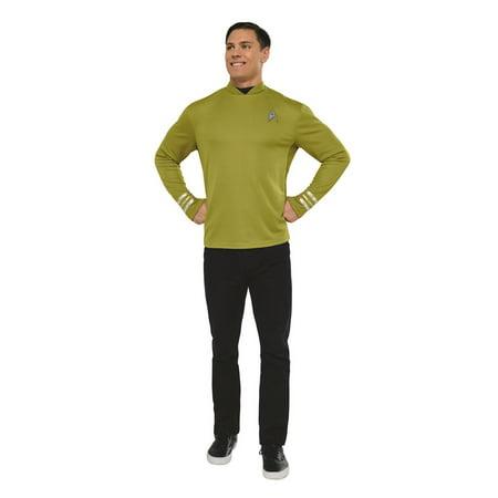 Star Trek Mens Captain Kirk Halloween - Kirk Costume