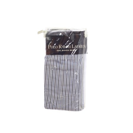 Polo By Ralph Lauren Mens Light Blue Striped Boxers