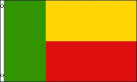 Benin Flag 3x5 ft Banner Republic of Benin Africa Country Nation Porto-Novo