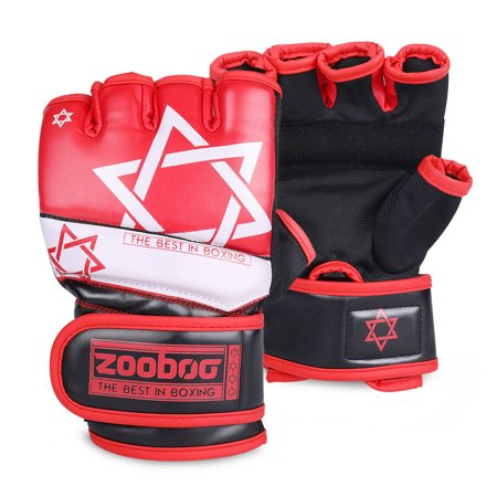 67a7fa0131e5d MMA Grappling Gloves - Muay Thai Training Punching Bag Mitts Kickboxing  Fighting Protective Hand Gear Accessories