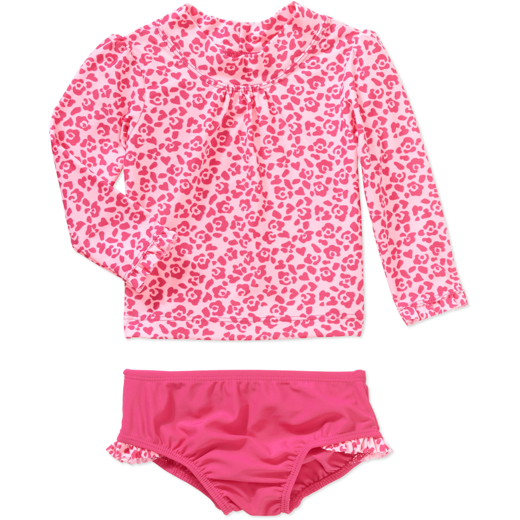 Child of Mine by Carter's Newborn Infant Girl Rash Guard Swim Set, Online Exclusive