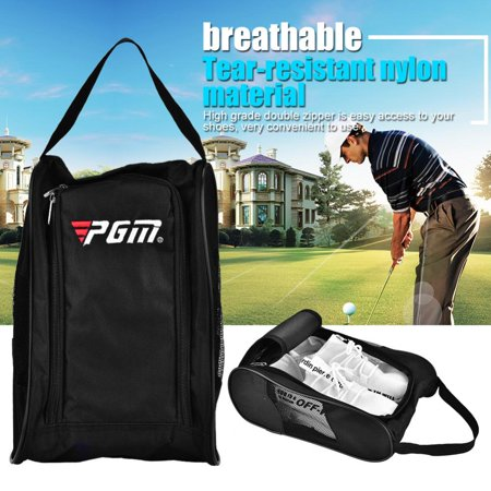 2Colors Portable Breathable Golf Shoes Bag Case Pocket Pouch Storage Sports Accessory, Golf Shoes Storage, Golf  Shoes Case