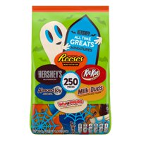 Hershey, Halloween All Time Greats Candy Assortment, 250 Ct., 81.4 Oz.