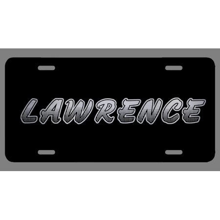 Lawrence Name Etched Style License Plate Tag Vanity Novelty Metal | Etched Aluminum | 6-Inches By 12-Inches | Car Truck RV Trailer Wall Shop Man Cave | NP520](The Cave Lawrence Halloween)