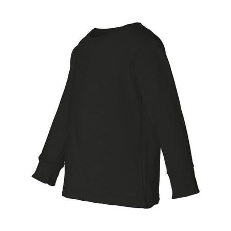 Rabbit Skins - Toddler Long Sleeve Cotton Jersey Tee