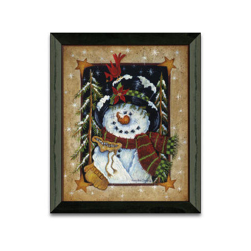 Timeless Frames Feeding The Birds Winter and Holiday Framed Graphic Art