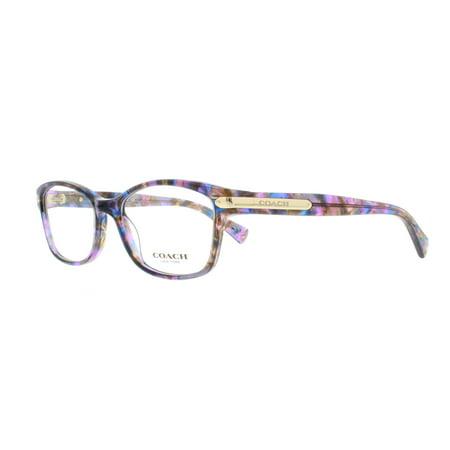 e1c7156476 COACH Eyeglasses HC6065 5288 Confetti Purple 51MM - Walmart.com