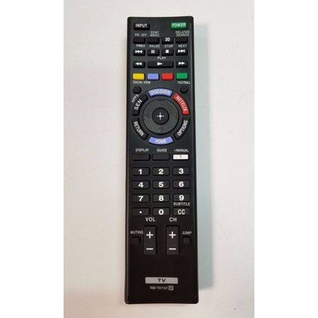 Replacement Sony RM-YD102 Remote Control for Smart LCD/LED HDTVs (Sony Tv Remote Controls)