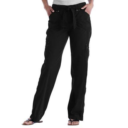 4f1782004f0 Faded Glory - Faded Glory - Women s Convertible Roll-Cuff Cargo Pants -  Walmart.com