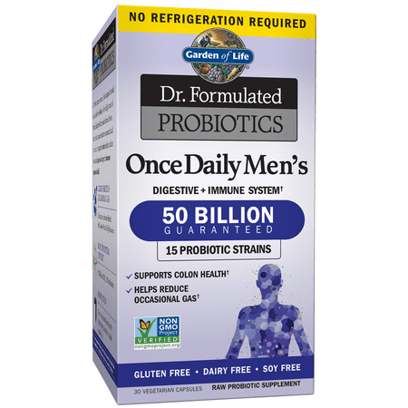 Garden of Life Dr. Formulated Probiotics Once Daily Men's Shelf Stable 30