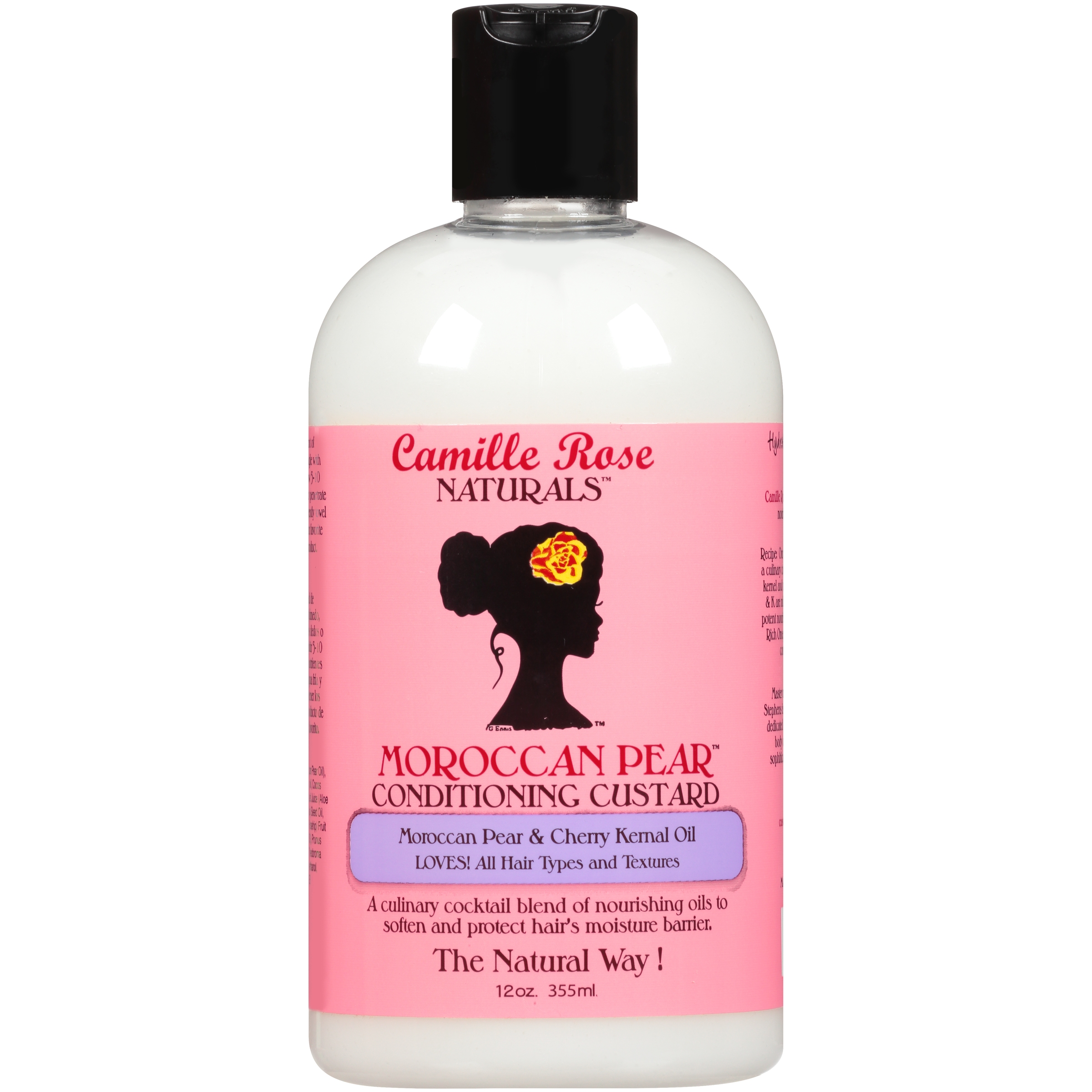 Camille Rose Naturals™ Moroccan Pear™ Conditioning Custard with Bonus Sweet Ginger Cleansing Rinse 12 oz. Bottle
