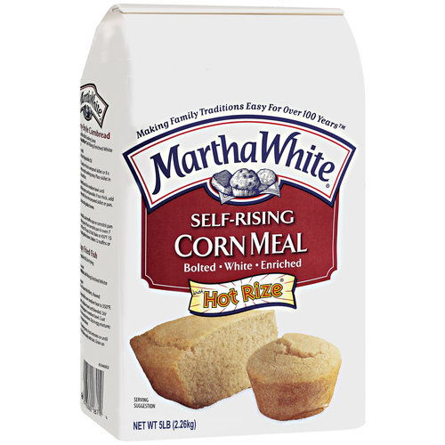 Martha White Self-Rising Corn Meal, 5 lb