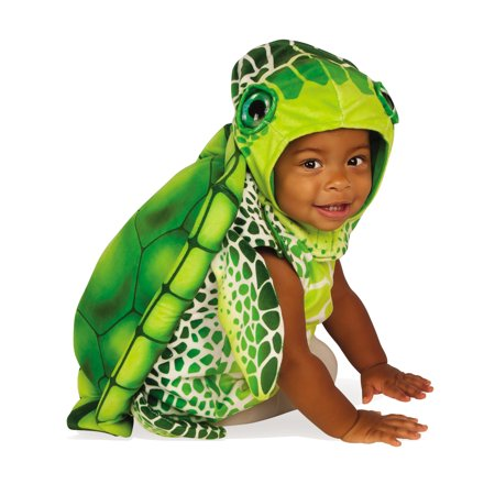Green Sea Turtle Infant Toddler Sea Creature Animal Halloween Costume](Toddler Animal Halloween Costumes)