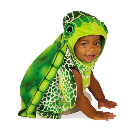 Green Sea Turtle Infant Toddler Sea Creature Animal Halloween Costume - Sea Turtle Infant Halloween Costume