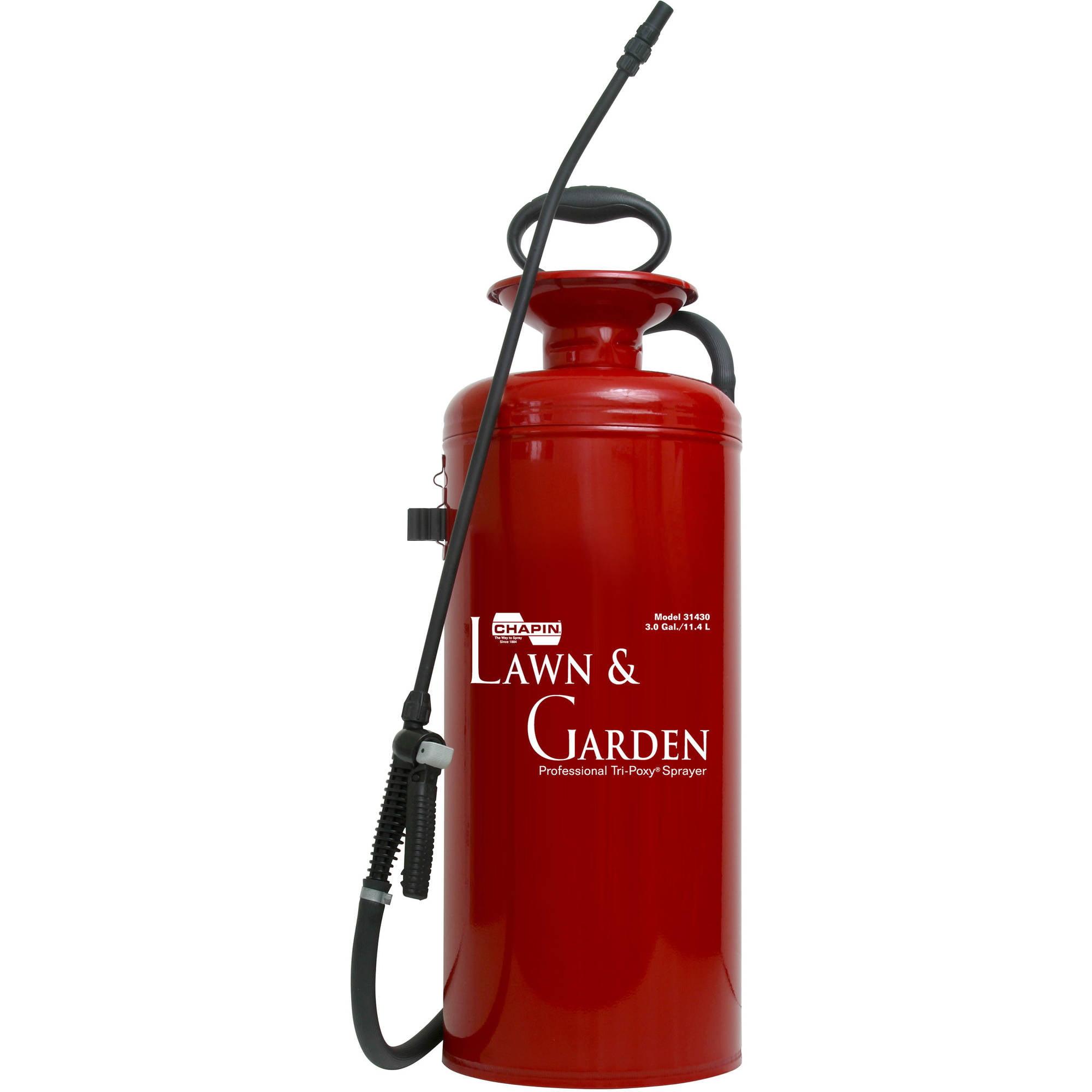 Chapin 31430 3-Gallon Lawn and Garden Series Tri-Poxy Steel Sprayer