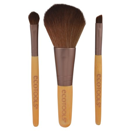 Ecotools Mini Essentials Makeup Brush Set, 1218, 3 pc