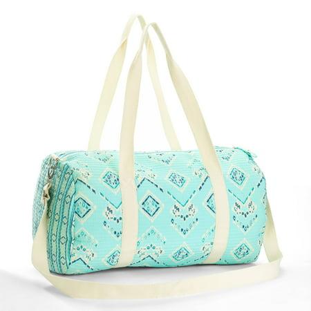 Women's Mini Quilted Weekender Bag