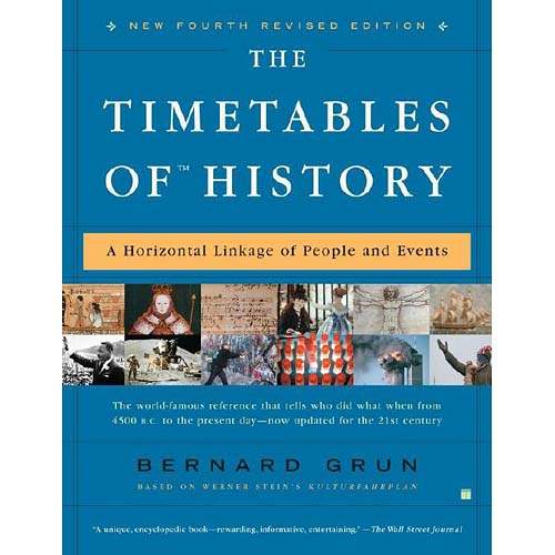 The Timetables Of History: A Historical Linkage Of People And Events