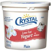 Crystal Creamery Plain Low Fat Yogurt, 32 oz