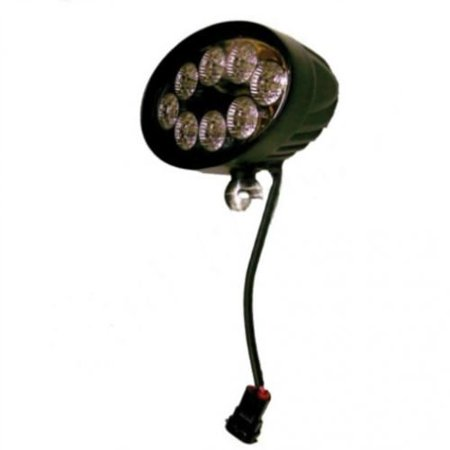 LED Flood Beam Rear Roof Lamp with Wiring Harness, New, John Deere, RE150421, RE151346, (New Lcd Harness)