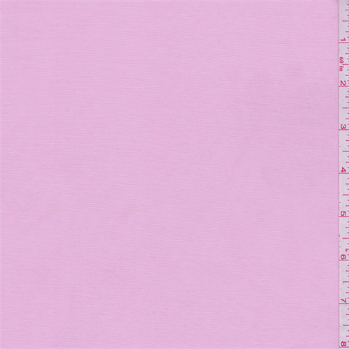 Baby Pink Fine Line Stretch Twill, Fabric By the Yard