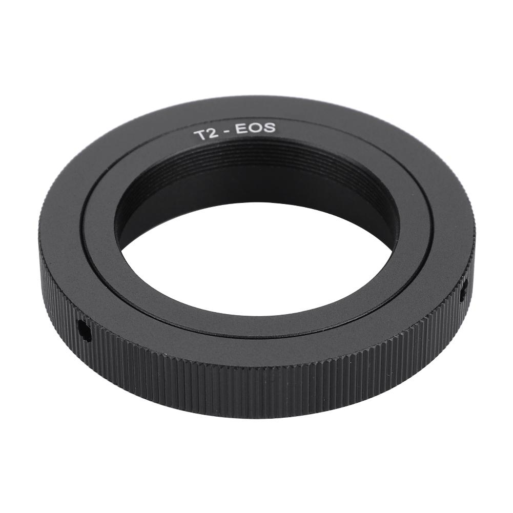 Camera Adapter Ring #2 Manual Focusing T-Mount Mirror Lens Telephoto Telescope for Digital DSLR Camera