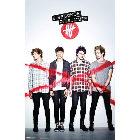 5 Seconds of Summer Poster - 22x34