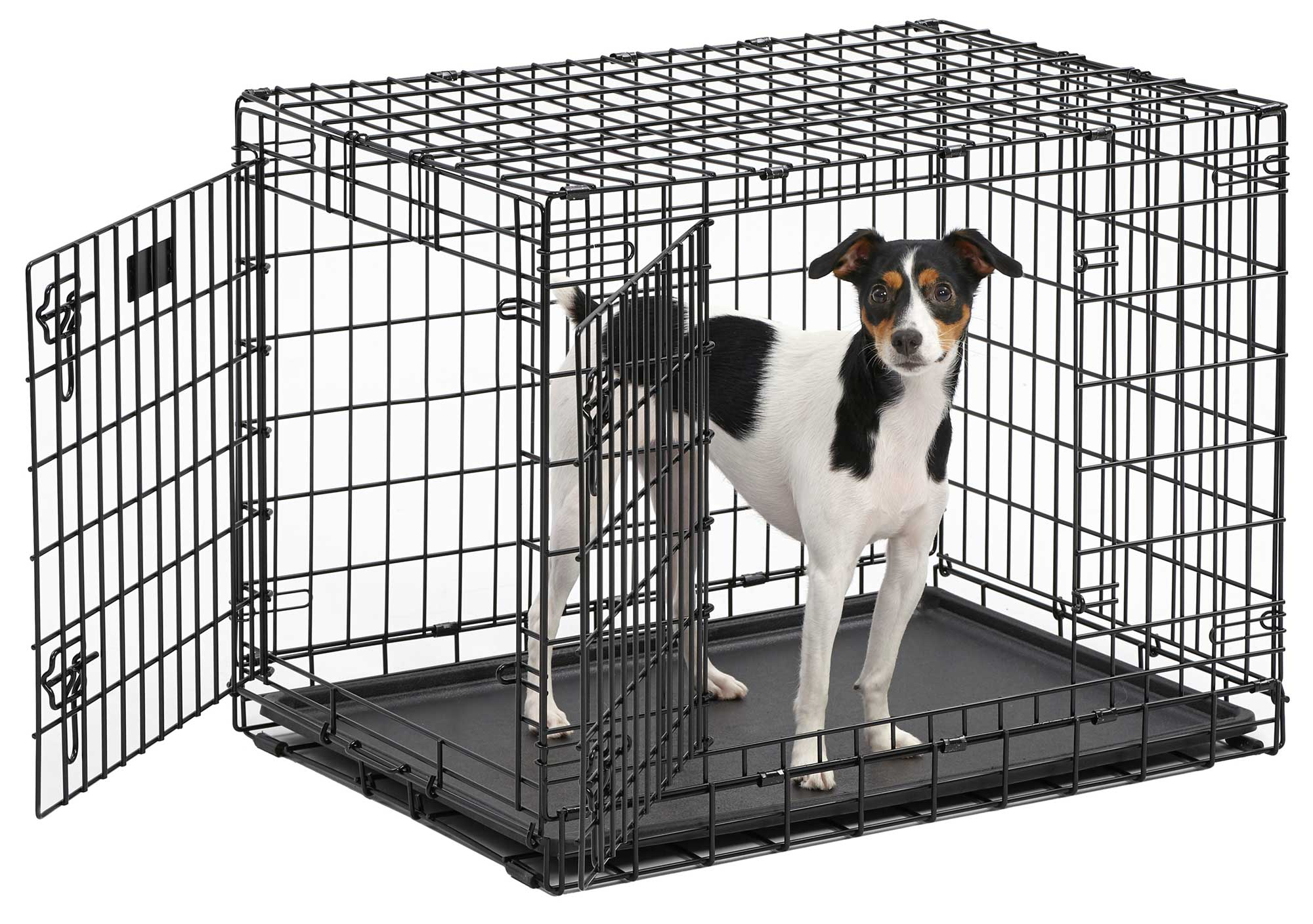 Midwest's Ultima Pro Extra-Strong Double Door Folding Metal Dog Crate by Midwest Pet Products