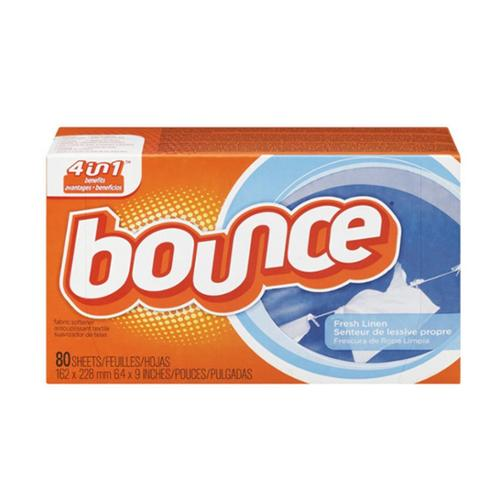Bounce Fabric Softener Sheets, Fresh Linen 80 ea (Pack of 4)
