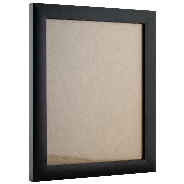 Bauhaus 1.25 Wide Craig Frames 262731622 16x22 Inch Modern Black Picture Frame