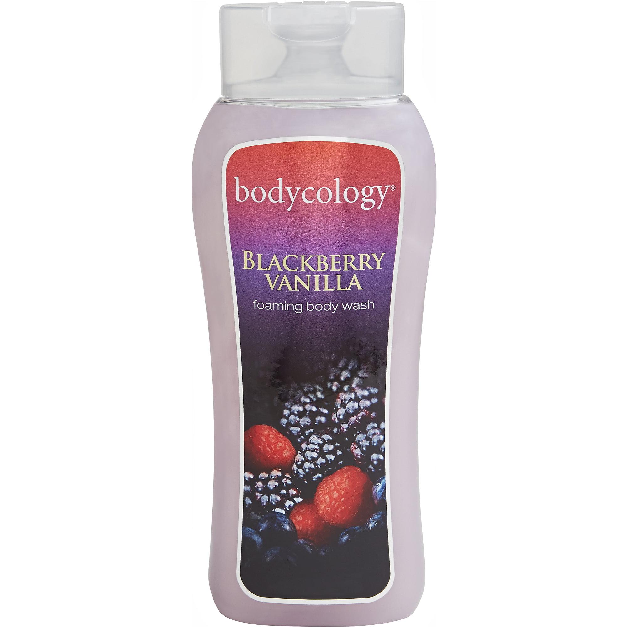 Bodycology Blackberry Vanilla Foaming Body Wash, 16 fl oz