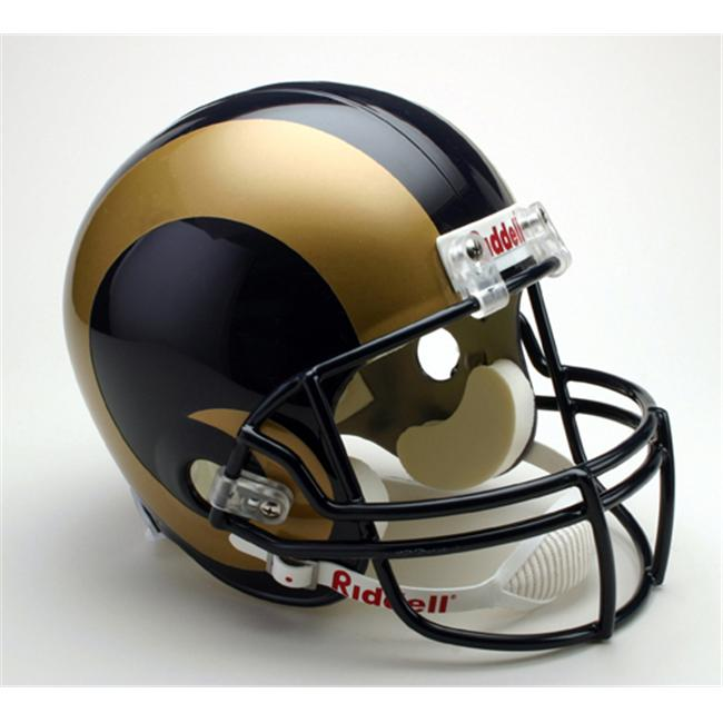Creative Sports RD-RAMS-R St.  Louis Rams Riddell Full Size Deluxe Replica Football Helmet