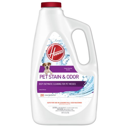 Hoover Pet Stain & Odor Carpet Cleaner Solution, 128Oz, AH30931
