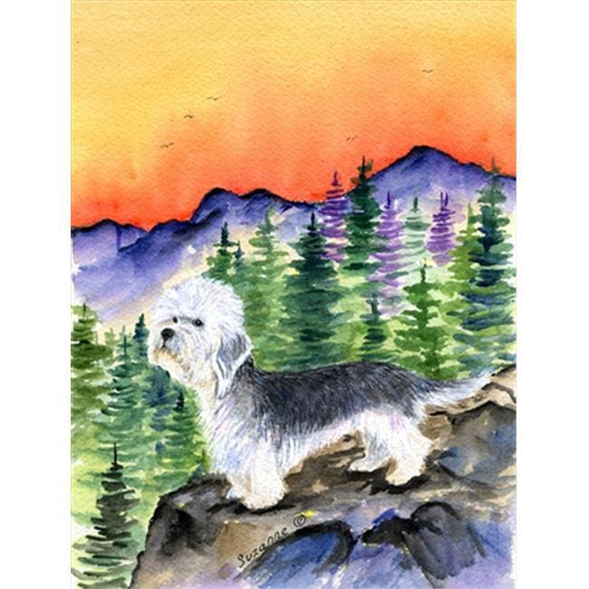 Carolines Treasures SS8222CHF Dandie Dinmont Terrier Canvas Flag - House Size, 28 x 40 in. - image 1 de 1