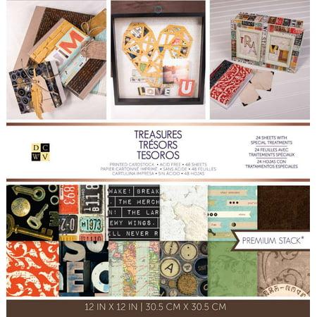 Cardstock Treasures - American Crafts DCWV 12