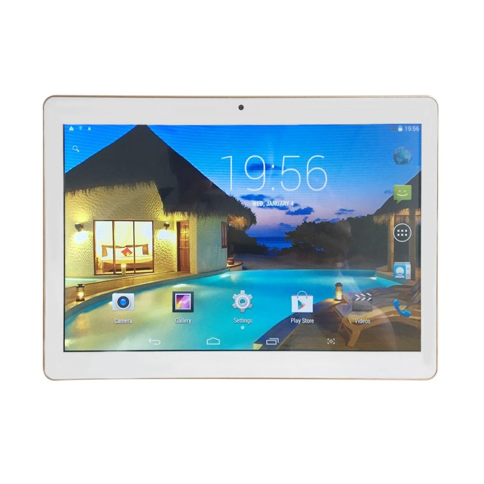 Tablet PC, 10 inch HD IPS Screen Tablet PC Octa Core Dual SIM Cards Tablet Built-in GPS