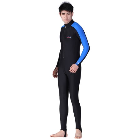 Men Full Body Diving Swimming Surfing Spearfishing Wet Suit UV Protection Snorkeling Surfing Swimming Suit (Wet Suit For Men Scuba)